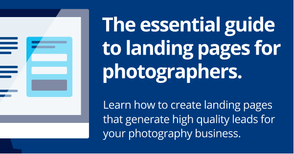 The essential guide to landing pages for photographers.