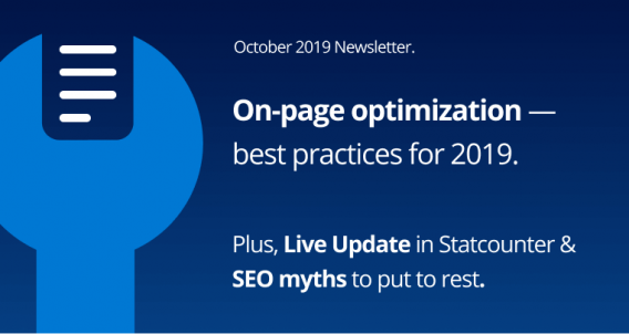 On-page optimization, Live Update & SEO myths to put to rest.