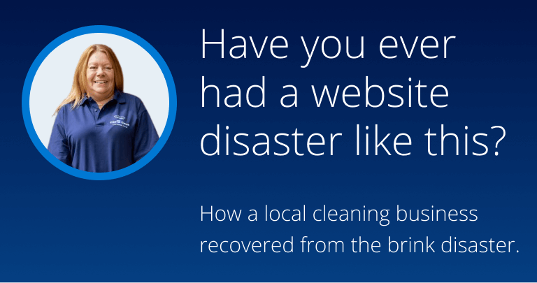 Have you ever had a website disaster like this?