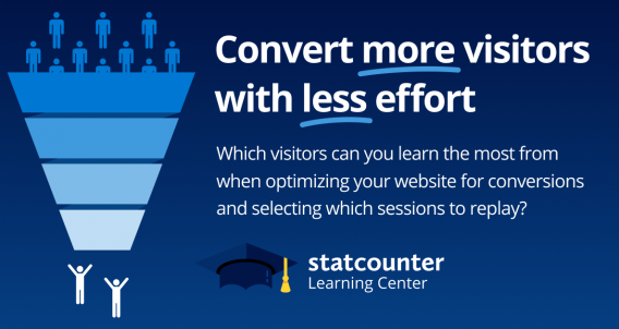 Convert more visitors with less effort.